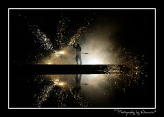 ✪ Fire Jedi ✪ EXPLORED (Wouavier) Tags: hot primavera night stars fire star tokyo noche spring aperture nikon war framed may mai jedi palais warrior mayo bp serra nuit printemps chaud feu spitting 2010 assassin eater fireeater feux blimey assasin warior chaleur 2470mm cracheurdefeu palaistokyo screed spittingfire d700 nikon2470 baladesparisiennes assacin