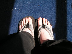 flip flops (wishfoot88) Tags: feet foot paw toes toe flip flops tickle sole soles flop slippers tickling ticklish