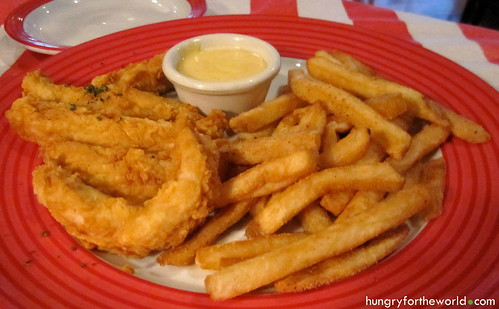 t.g.i. fridays chicken fingers with fries