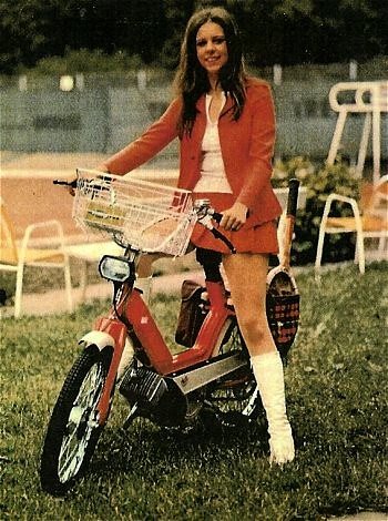 moped girl