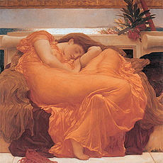 230px-Flaming_June,_by_Fredrick_Lord_Leighton_(1830-1896) (catied27) Tags: flamingjune fredericklordleighton