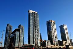 New City - DSC_5365ed (@ThetaState) Tags: blue sky urban toronto ontario canada buildings apartment ttc may streetcar condominium 2010 digitalcameraclub nikond300 concordcityplace afsnikkor18200mmeddxvr sapdinaave