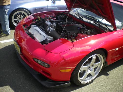 Mazda RX7 w/corvette engine swap