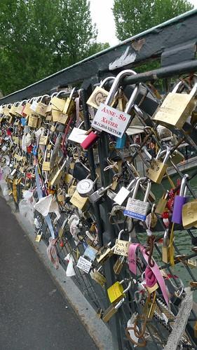 Love Locks on the Archbishop's Bridge