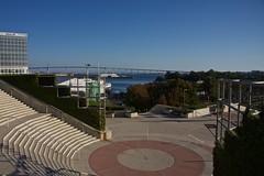 San Diego Convention Center (SarahO44) Tags: california bridge usa marina bay san waterfront diego center convention embarcadero coronado
