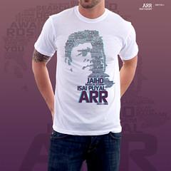 ARR Fan Tshirt (Bharat KV) Tags: portrait india digital typography oscar tshirt arr rahman typo vector bharat fashiondesign garment arrahman bkv bharatkv isaipuyal allahrakharahman