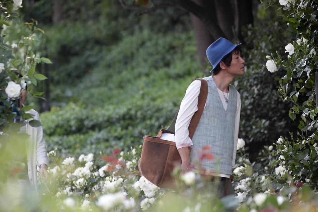 Rose Garden in Osaka