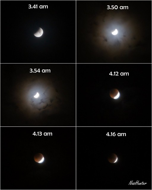 Gambar Gerhana Bulan Penuh 16 Jun 2011