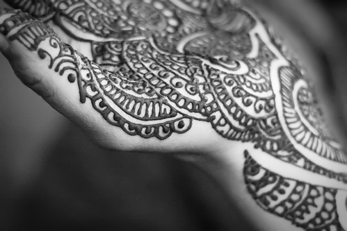 Bridal Mehndi ~ The Initials