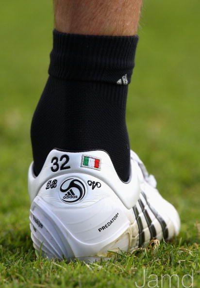 David Beckham's Adidas Predator Power Swerve custom
