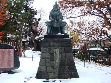 上杉謙信公像~上杉神社