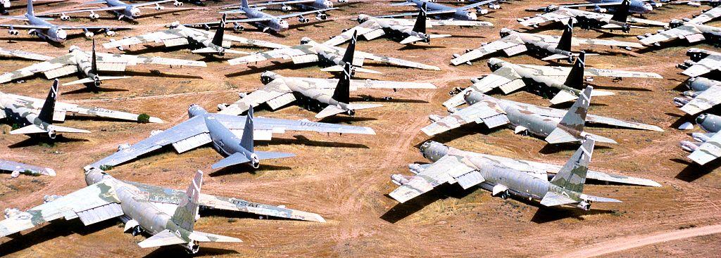 B-52 Stratofortress - Cemitério de ossos