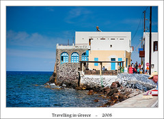 Greek colors (Maciej - landscape.lu) Tags: old travel blue white colors yellow stairs composition zeiss t landscape geotagged island greek photography islands landscapes doors outdoor sony may vivid minimal greece mai network dslr 2008 za f28 ssm grece hous sonnar 247028 2470mm vario grecja variosonnar tpn a700 nissyros bluea dhodhekanisos dslra700 sal2470za sonyzeissvariosonnart2470mmf28zassm variosonnar247028za