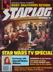 starlog featuring one of Golden Girls