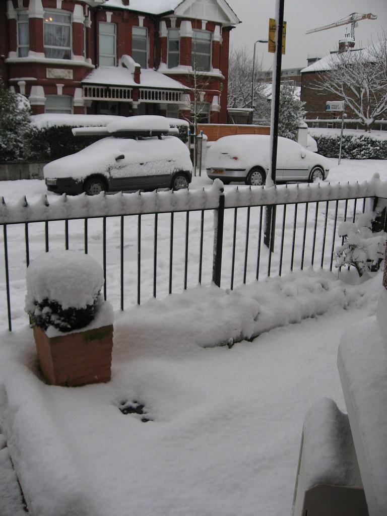 Snowy London 006