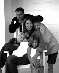 Til Schweiger and his family