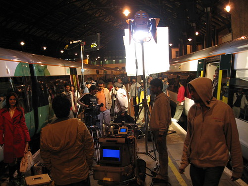 Train Chartering - film / tv  locations on stations and train - platform filming