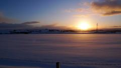 Snow sunset 1 (Robin and Mhairi) Tags: snow lx3 february09