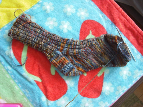 arch shaped sock