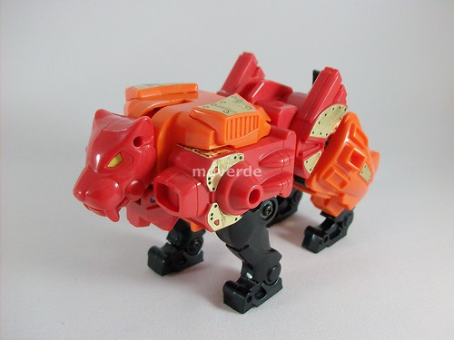 Transformers Rampage G1 - modo alterno (by mdverde)