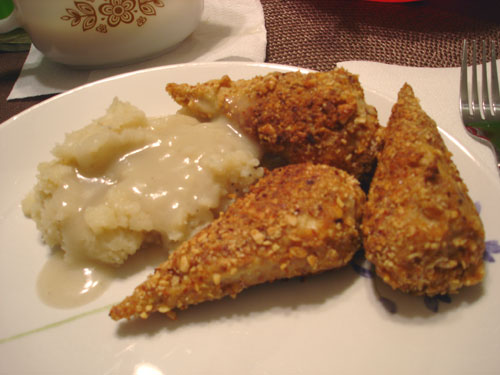 "almond ""chicken"""