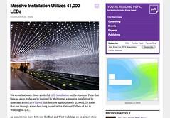 Massive Installation Utilizes 41,000 LEDs - PSFK.com_1235668202836