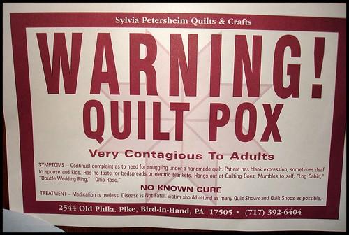 Quilt Pox!
