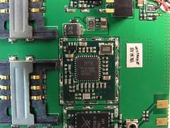 聯發科 MT6225 晶片解決方案裡的 MT6139 射頻晶片。
