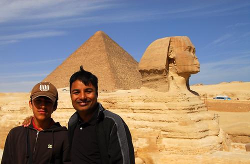 LND_2596 Giza Pyramids