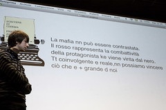 Scrivere di Cinema 034 (Cinemazero) Tags: cinema foto veronica marco 2009 marzo elisa pordenone scrivere concorso dagostino siciliana amenta ribelle cinemazero elypurple elisacaldana