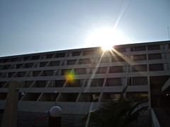 sun over resort (Dave DiCello) Tags: blue sky sun gulfofmexico glare bright resort dreams flare cancun caribbean shining mexicovacation cancunvacation dreamvacation cancunmexico dreamscancun sunriseocean dreamsresortandspa dreamspalmbeach beachorseaoroceanorsandorclouds imagesunoverwater evad310 dreamsresortinmexico davedicello