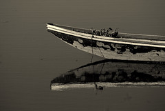 Para kay FrancisM (1964-2009) (frborj) Tags: bw reflection boat interestingness nikon artist photographer waterlily philippines sigma swamp tribute docked frontpage rapper pampanga unpopular 70300 atrest explored d80 candaba francismagalona pinoykodakero frborj forfrancism
