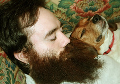 Let Sleeping Dogs Lie (faith goble) Tags: sleeping rescue dog art beagle puppy beard artist photographer bluegrass kentucky ky larry creativecommons poet writer bowlinggreen bowlinggreenky abigfave bowllinggreen faithgoble patrickgoble ccbyfaithgoble gographix heritage2011 faithgobleart
