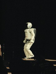 Asimo at the McEwan Hall
