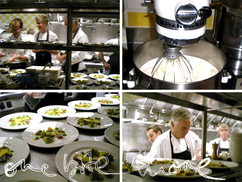 the kitchen at uccello