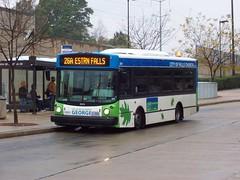 GEORGE bus, City of Falls Church, Virginia