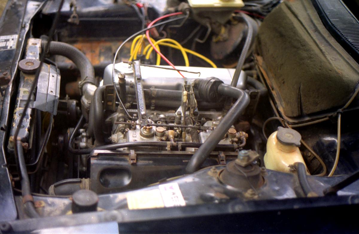 Talbot Sunbeam 1.6 Ti Engine 7
