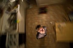 40[52] - Spin (jæms) Tags: selfportrait me topf25 kitchen explore nophotoshop 52 remoteflash remoteshutter