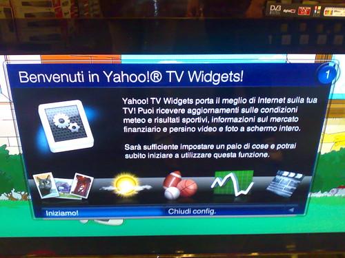 Internet In Televisione Una Realta Anche In Italia L Anteprima Delle Broadband Tv Con Yahoo Connected Tv Michele Ficara Manganelli Blog Analogica Mente Digitale