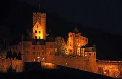 Wertheim- Castle by Night (pe_ha45) Tags: main burg wertheim tauber