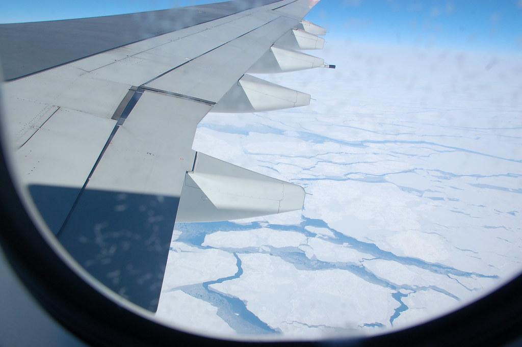 Los sobrevolantes del círculo polar