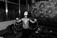 L1010209 (KeepItHomeschool) Tags: party blackandwhite bw newyork dance spring masks cabanas pulledpork leicadlux4