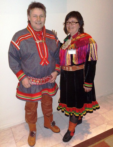 Sami local Costume in Norway
