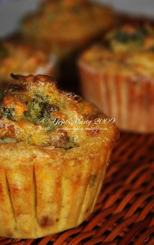 Vegetable Muffin 1