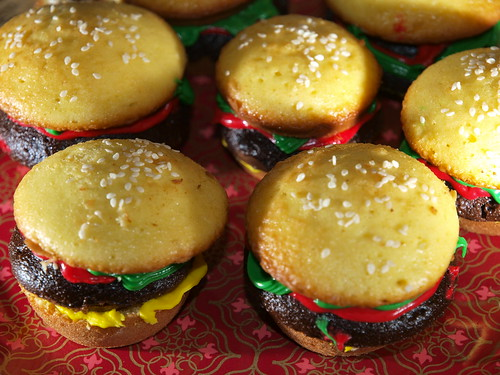 Cheeseburger Cupcakes by KateDW.