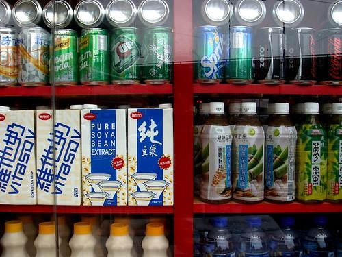 jimwang0813 拍攝的 超市維他奶。