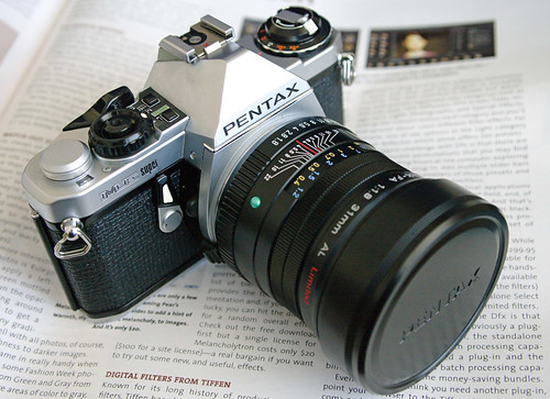 Pentax ME Super and FA 31mm F1.8 lens