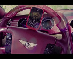-::- BB & B~ -::- (-::-Mr.AD-::- *Uae*) Tags: b red car blackberry bokeh m 3g cover bb silicon protection bentley 9000 redberry mansory bold9000
