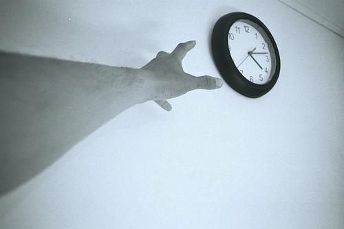 我想抓住時間...