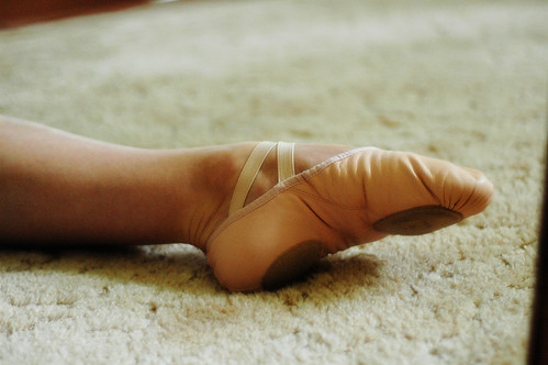 New ballet slippers
